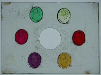6 Glass Casts of Gem