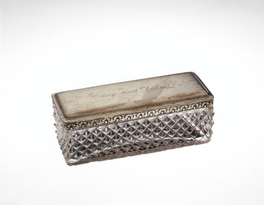 Hairpin Box with Lid
