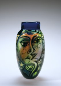 Vase with Female Head