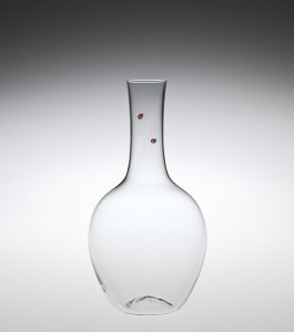 """Balloon"" Decanter with Ladybugs"