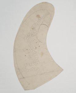 [Preparatory drawing to model #702] [art original].