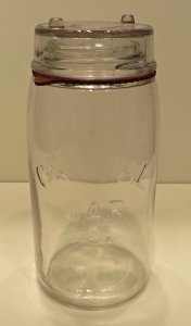 Jar with Cover and Gasket