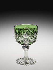 """Wineglass in """"Venetian"""" Pattern"""