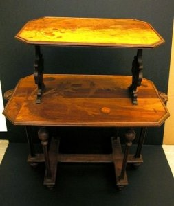 Marquetry Tea Table