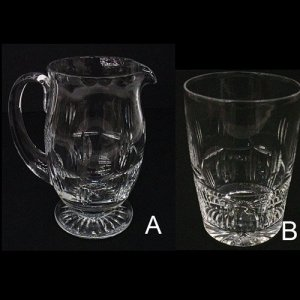 Jug and Juice Glass