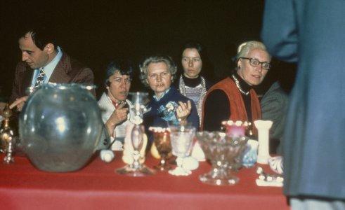 CMG Seminar 1972 [slide]: Jay and Mickey Doros at left [Miriam] Mucha at right.