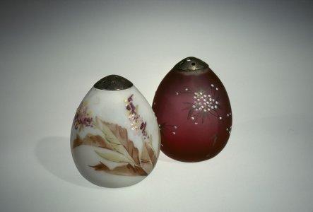 2 Burmese Egg-Shaped Salts