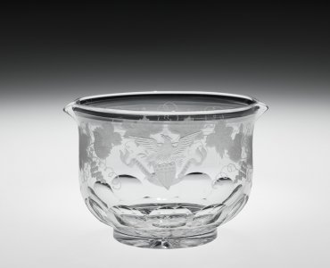 Wineglass Rinser from the Franklin Pierce Presidential Service
