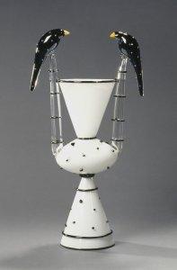 Bird vase [slide].