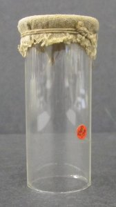 Cylinder with Fabric Top