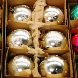 6 Christmas Ornaments