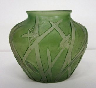 Vase with Grasshoppers