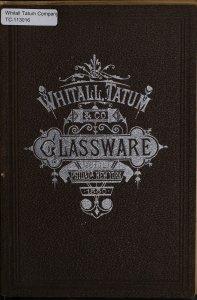 Whitall, Tatum & Co. glass manufacturers: druggists', chemists' and perfumers' glassware [and] druggists' sundries.
