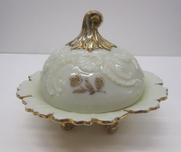 Butter Dish with Cover in Loui XV Pattern