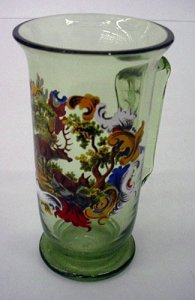 Mug with Woodland Scene and Deer