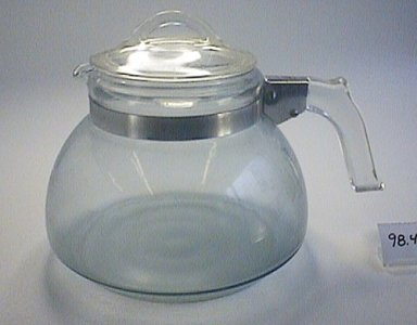 Pyrex Flameware Utility Tea Kettle and Lid