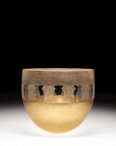 Faux Marble Bowl