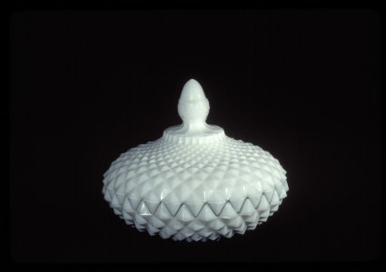 Mitre Diamond Butter Dish and Cover