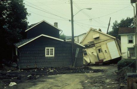 [Weaver St. home damage] [slide].