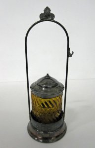 Pickle Caster with Lid and Base