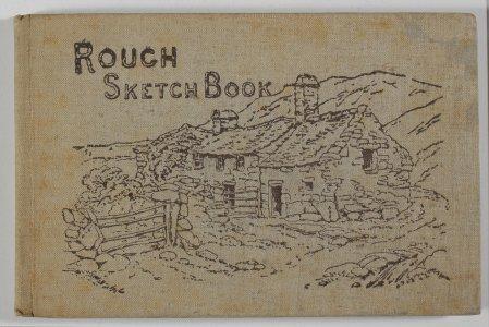 Rough sketch book.