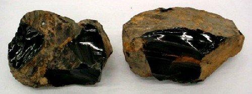 2 Chunks of Obsidian