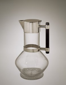 Decanter with Wood Handle