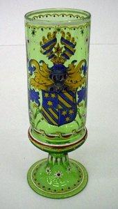 Enameled Armorial Pokal