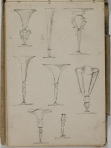 [Light brown sketchbook 1897-1899] / F. Carder.