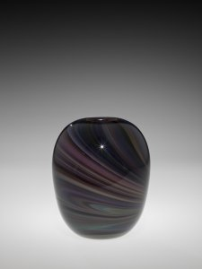 Blown Silver Schmaltz Ovoid