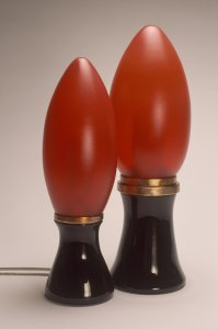 Lipstick lamps, 2003 [slide].