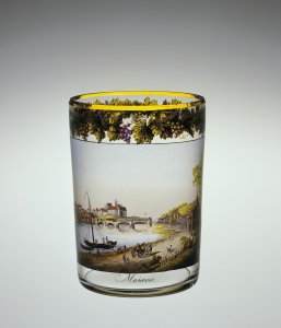 Beaker with a View of Meissen