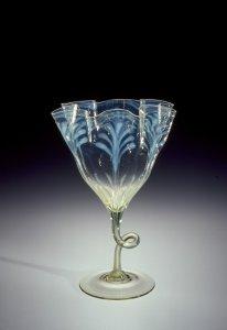"""""""Straw Opal"""" Vase with Wavy Rim"""