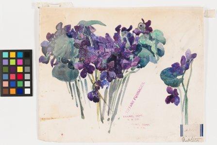 Violets 231 [watercolor] [art original].