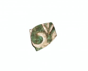 Fragment of Beaker or Bottle with Palmette