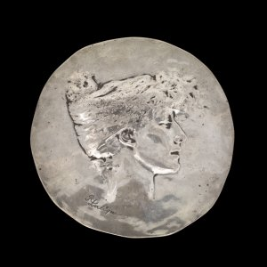 Medal Celebrating Sarah Bernhardt