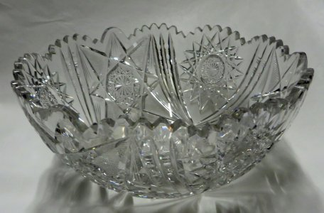 Bowl with Hobstar Design