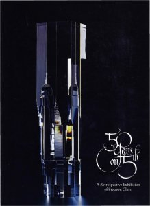 50 years on 5th: a retrospective exhibition of Steuben glass.