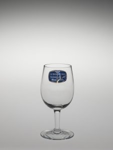 """Wineglass in """"The President's House"""" Pattern"""