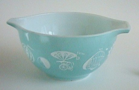 "1-1/2 Pint Pyrex ""Cinderella"" Bowl"