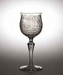 Goblet with a Hunting Scene