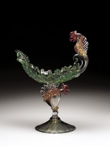 Lettuce-Leaf Compote with Winged Griffins