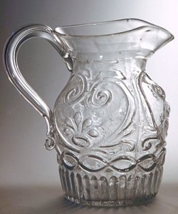 Glorious Antique Victorian Acid Etched Glass And Sterling Silver Gilt Claret Jug Soft And Light Bottles