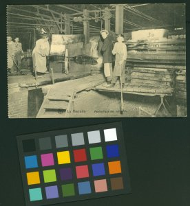 [Chambon postcards, Belgian glass factories ca. 1900-1914] [picture].