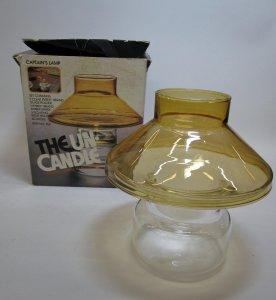 Pyrex Un-Candle Captain's Lamp in Original Box
