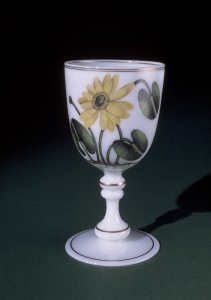 Goblet with Water Lilies