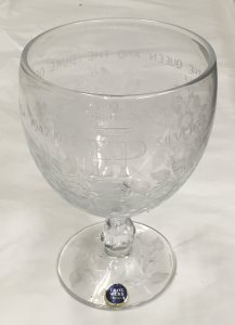 Goblet with Box and Plaque