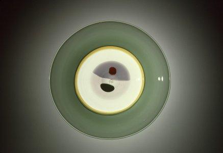 """Mezzaluna"" (Half-Moon) Plate"