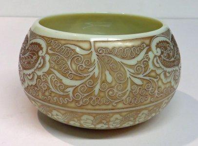 Ivory Cameo Bowl