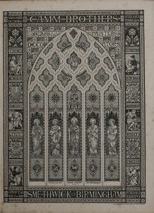 Designs for stained & painted glass & decorations ecclesiastical & domestic.